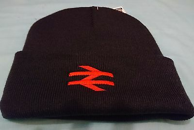 Br British Rail Beanie Hat Brand New Embroidered Red Arrows
