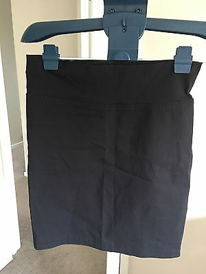 Pea in A Pod Maternity Tube Skirt Size 8 Black