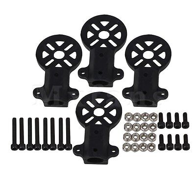 4PCS Motor Mount support seat 12mm Round Tube Multiaxial for Carbon