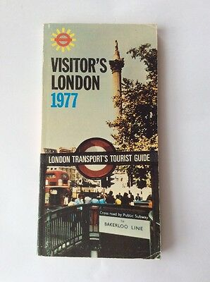 London Transport - Visitor's London 1977 - Tourist Guide