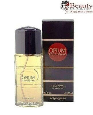 Yves Saint Laurent (YSL) - Opium pour homme EDT 100ml Spray For Men