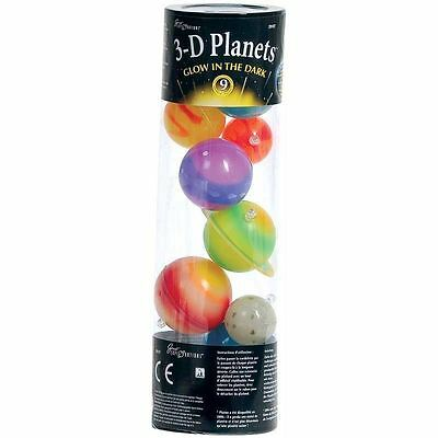 University Games 29107 - Tube Planetes 3D Phosphorescent