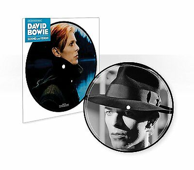 "DAVID BOWIE SOUND AND VISION 40th ANNIVERSARY 7"" PICTURE DISC VINYL (2017)"