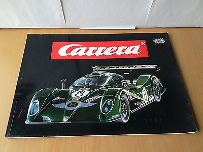 Carrera 2002 Catalogue - Brand New - Cover Worn