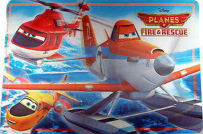 Disney Planes FIRE AND RESCUE 3D Dinner Placemat