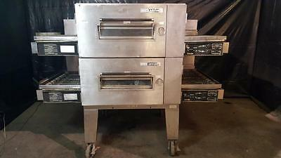Lincoln 1601-023 Double Stack Low Profile Gas Conveyor Ovens