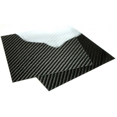 Carbon Fiber Plate / Panel / Sheet, 500x150mm, Thickness Selection Available