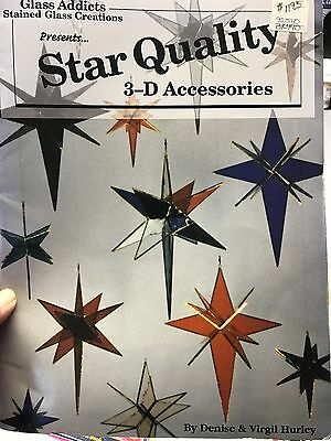 Star Quality 3-D Accessories Stained Glass Pattern Book by Glass Addicts