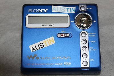 Sony Mz N707 Md Lp Minidisc Player  Net Md Sony Microphone