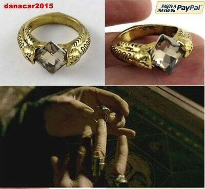 Anillo De Harry Potter Horrocrux Piedra Resurreccion Lord Voldemort Tom Riddle