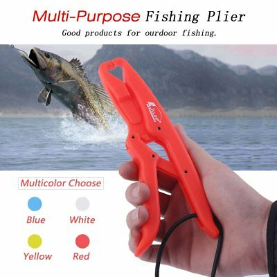18*3.5*1.5cm ABS Floating Fish Grip Clamp Solid MultiPurpose Fishing Pli GT