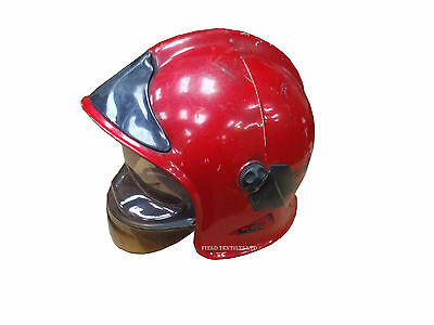 Cgf Gallet Red Fire Fighters Helmet - Used - Size Medium (53-63)