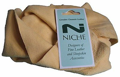 Genuine Natural Chamois Leather 1.5 sq foot