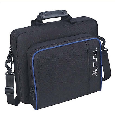 New Black Multifunctional Travel Carry Case Carrying Bag For PlayStation4 PS4