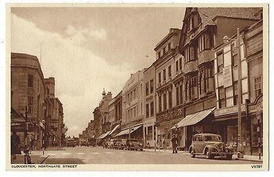 GLOUCESTER Northgate Street, Old Postcard by Photocrom, Unused