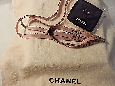 VIP gift from Chanel  Le Lift Delicate pink towel -pressed + ribbon -1 meter
