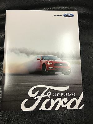2017 Ford MUSTANG 44-page Original Sales Brochure