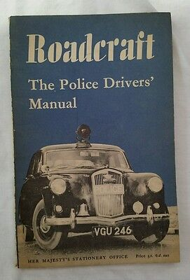 Roadcraft: The Police Drivers Manual - HMSO - Good condition  - Paperback 1961