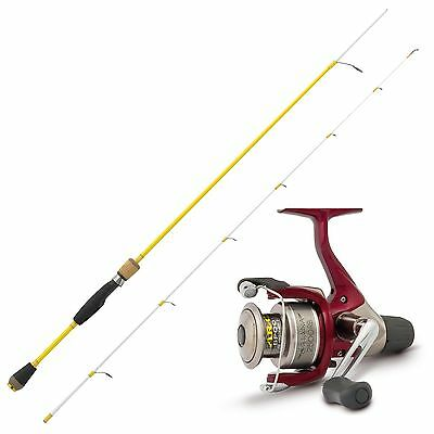 WFT Rute & Shimano Rolle Hecht Angeln Combo Angelset No 1