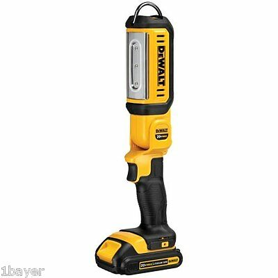 DEWALT Warehouse Office Work Building 20V Max LED Hand Held Area Lamp Light