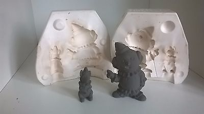 Ceramic Slip Casting Mold Duncan Petey And Scooter Pookin