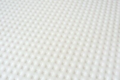 """Easy Fit Zipped Cover for 3"""" Memory Foam Mattress Toppers COVER ONLY"""