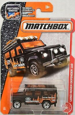 2017 Matchbox MBX Heroic Rescue 84/125 - Land Rover Defender 110. Shipping is Fr
