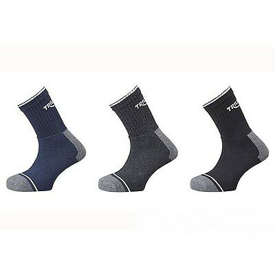 Genuine Triumph Union Socks Pack Of 3 Black Navy Blue Grey Uk 6 -12 Euro 39 - 47