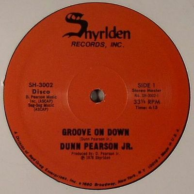 "PEARSON JR, Dunn - Groove On Down - Vinyl (12"")"