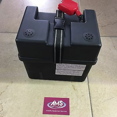 Wheeltech Enigma & Energi Plus Electric Wheelchair Front Battery Box inc Wires
