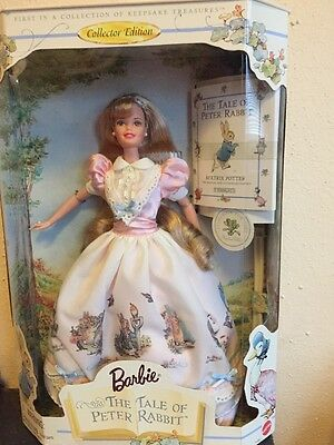 Mattel Barbie and the Tale of Peter Rabbit 1997 Collector Edition