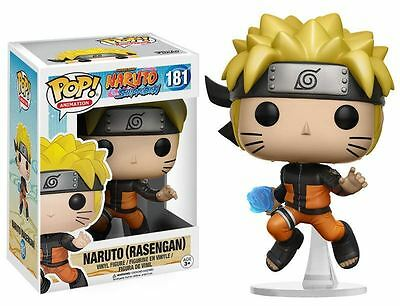 Funko POP! Naruto: Naruto (Rasengan) - Stylized Anime Vinyl Figure 181 NEW
