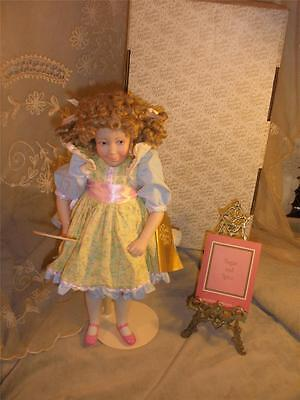Sugar and Spice Franklin Heirloom Porcelain Hand Painted Doll by Carol Lawson