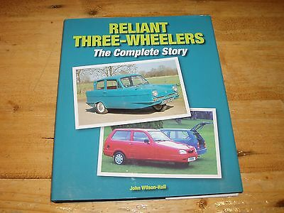 Reliant Three-Wheelers - The Complete Story.  Sale-Was £25.00