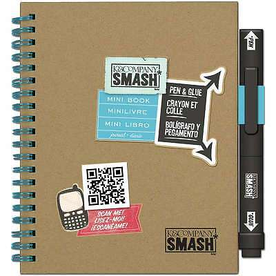 3-D Mini SMASH Book-With Pen And Glue 643077672086