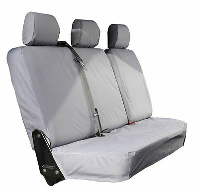 Town & Country NEW SEAT COVERS SET VW TRANSPORTER T5 REAR  TAILORED FIT