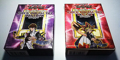 Yugi + Kaiba STARTER DECK PACK-  Portuguese FIRST EDITION - NEW - VERY RARE!!