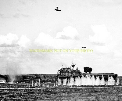 USS Hornet CV-8 8X12 Photo Military United States Aircraft Carrier CVA USN NAVY
