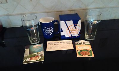 """white Castle"" Lot Of 6: 2016 Holiday Mug, 1 Card, 2 Score Pads, 90 Gl, 95 Gl"