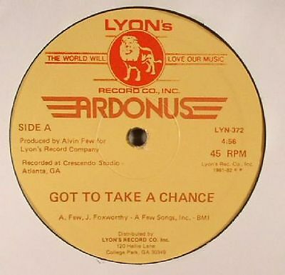 "ARDONUS - Got To Take A Chance - Vinyl (12"")"
