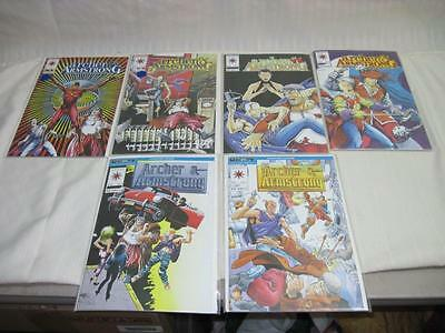 Valiant Comics Lot of 6 Archer and Armstrong Comic Books #1 2 8 9 10 11