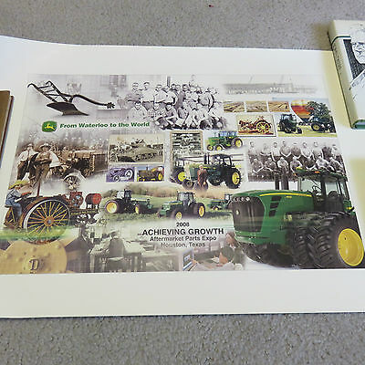 """2008 John Deere """"From Waterloo to the World"""" Poster Parts Expo"""