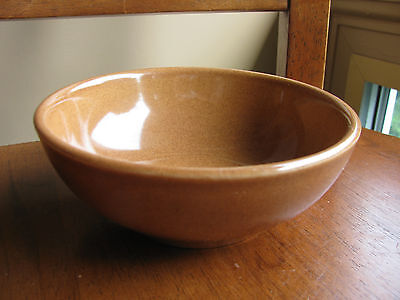 """Russel Wright IROQUOIS Coupe Cereal Bowl RIPE APRICOT 5.25"""" Great Condition!"""