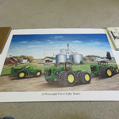 """2009 Limited Edition John Deere """"Powerful First 50 Years"""" Print"""