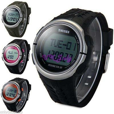 Fashion Gift Skmei Heart Rate Sport LED Digital Quarz Wrist Watch Pedometer