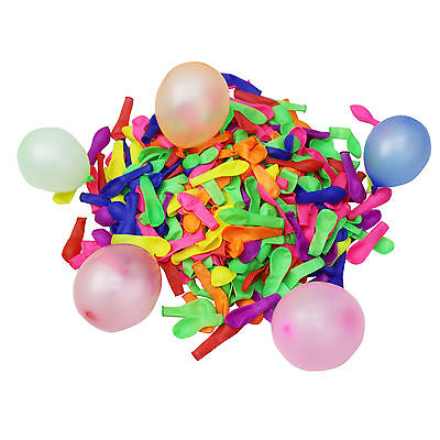 250 Water Balloons Bombs Multi Colour Kids Summer Party Fun Toys Bag Fillers NEW