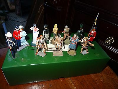 King And Country-12 Assorted Figures In An Original K&c Box - Rare Find