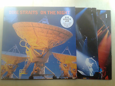 2X Lp Dire Straits On The Night Original 1993 Made In Germany Ex+ Rare Sting