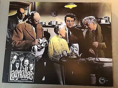 LADYKILLERS 10 Swiss Lobby Cards '60s Alec Guinness