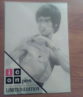 Bruce Lee Icon Pic.Kung Fu ,Martial Arts Icon.Limited Edition.